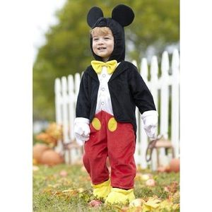 Disney Mickey Mouse Toddler Costume size 3T